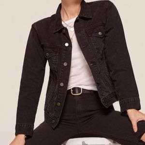 fed2a72307 ... Agent Provocateur Valerie Dress Size 2 Reformation Black Jean Jacket ...